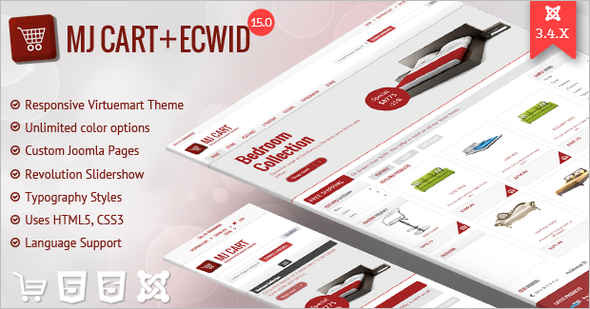 Responsive Oscommerce PSD Template