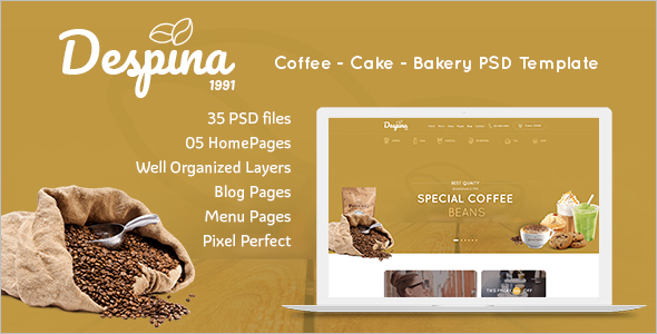 Restaurant Menu Magento Theme