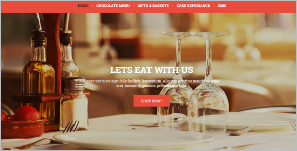 Restaurant Prestashop Theme