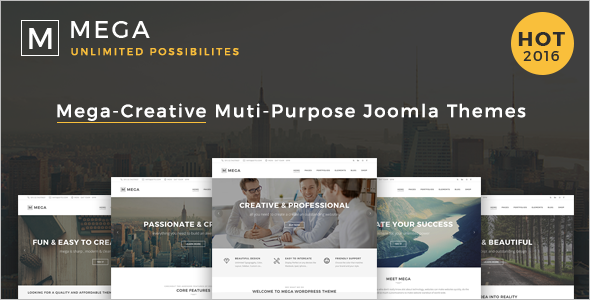 SEO Friendly Agency Joomla Template