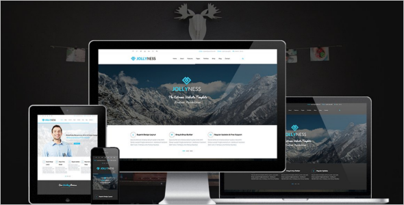 SEO Friendly Business Joomla Template