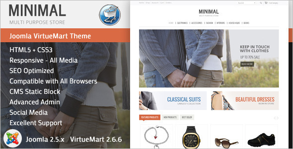 SEO Friendly Joomla Design Template