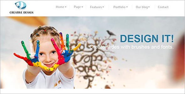 SEO Friendly Joomla Template Model