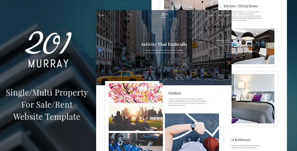Sale&Rent Website Template
