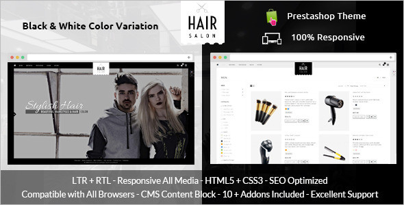 Salon Prestashop Theme