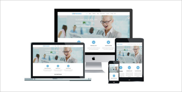 Simple Business Joomla Website Template