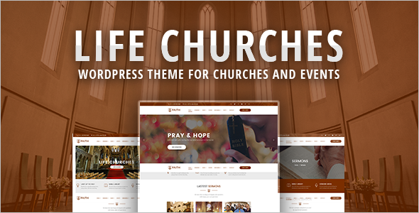 Simple Church Website Template