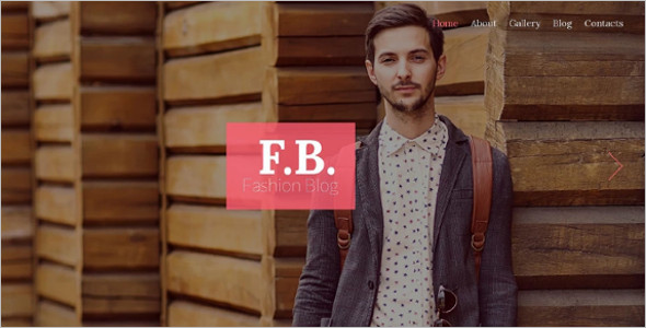 Simple Fashion Blog Theme