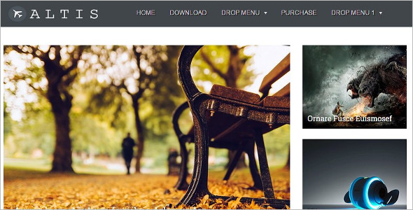 Simple Friendly Blogger Template