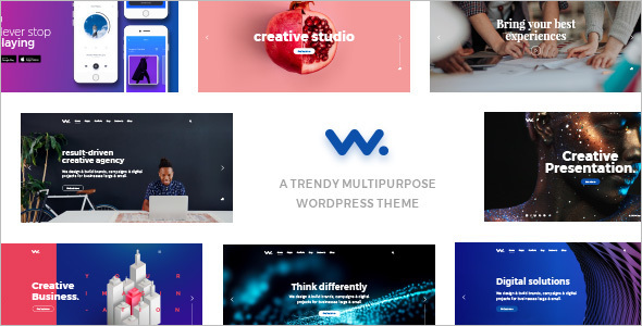 Single Page Agency WordPress Theme