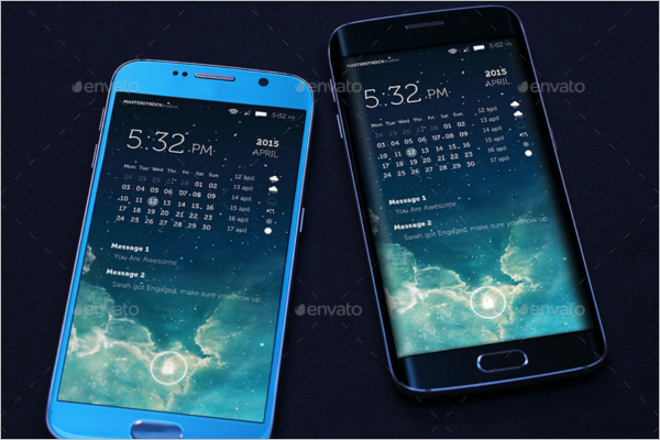 Smart Samsung Mobile Mockup