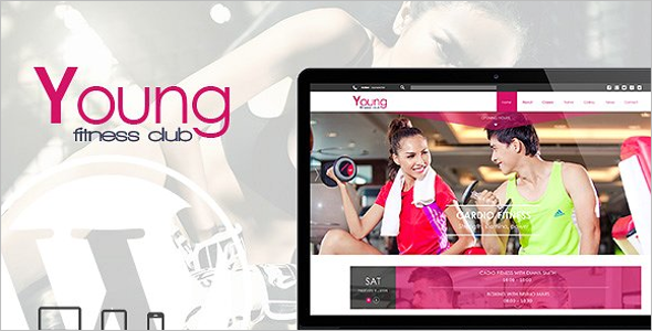 Spa & Fitness Yoga WordPress Theme