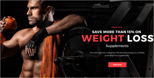 Sports Nutrition PrestaShop Theme