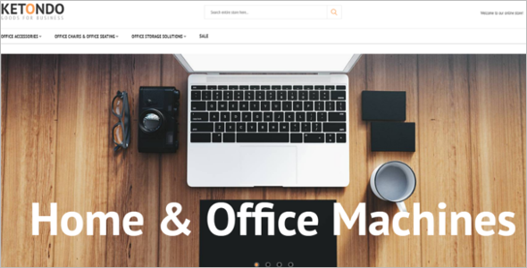 Stationery Business Magento Theme