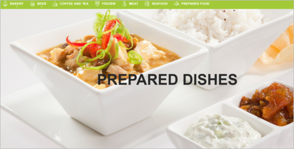 Stylish Restaurant PrestaShop Template
