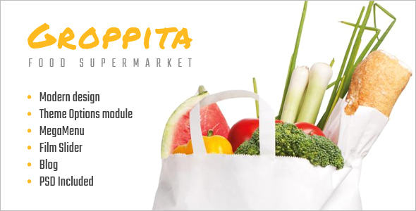 Supermarket Food Magento Theme