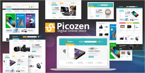 Technology Magento Ecommerce Theme