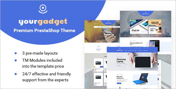 Technology Prestashop E-commerce Theme
