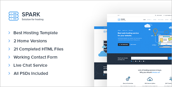 Technology Site Template