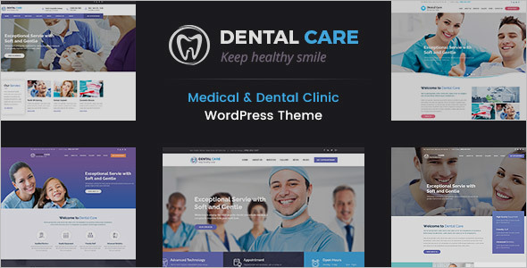 Teeth Clinic Website Template