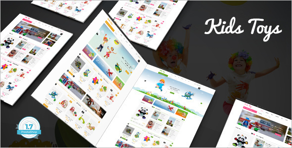 Toys Shop Website Template