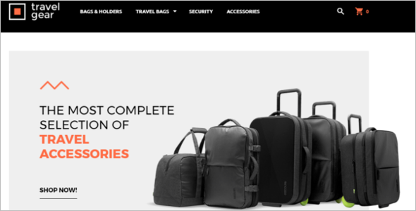 Travel Bag Magento Theme