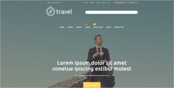 Travel & Tour Magento Theme