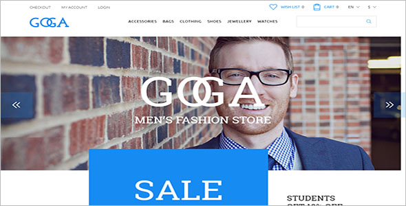 Trendy Fashion Bootstrap Template