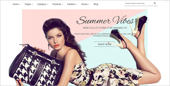 Trendy Fashion Magento Template