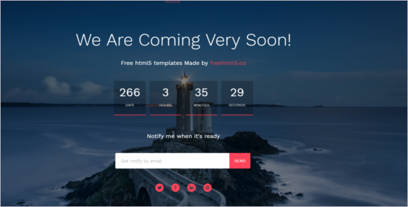 Under Construction Free Website Template