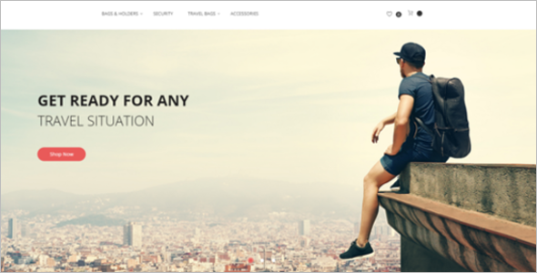 Unique Travel Magento Theme