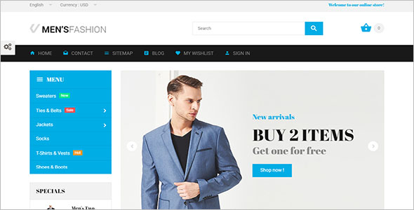 Vintage Fashion Bootstrap Template