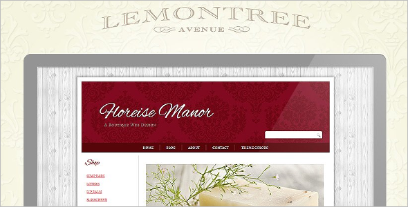 Vintage Website Blog Theme