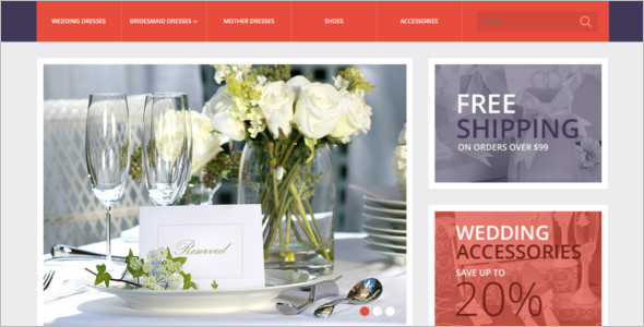 Wedding Planner OpenCart Theme