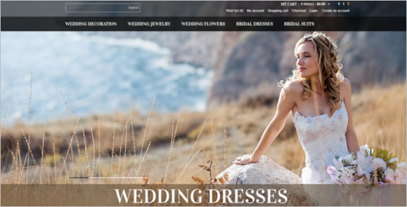 Wedding Shop OpenCart Theme