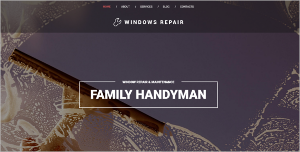 Window Repair Drupal Template
