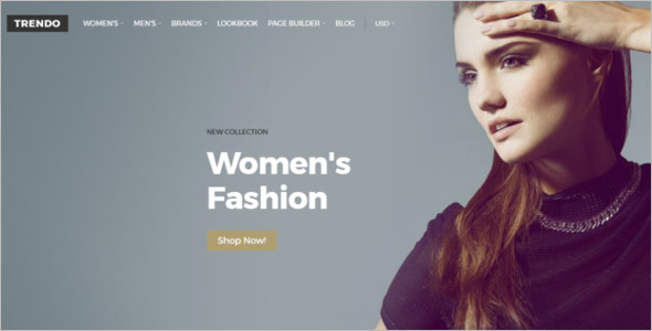 Women's Fashion OpenCart Theme