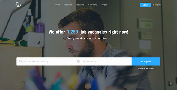 WordPress Job Portal Theme