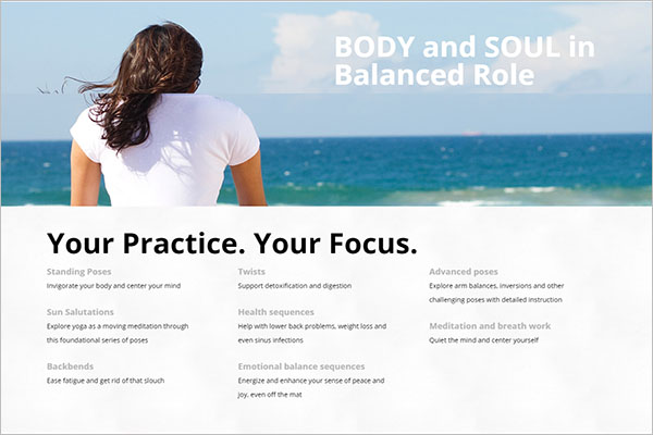 Yoga Classes WordPress Theme
