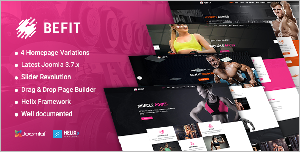 Yoga Fitness Website Template