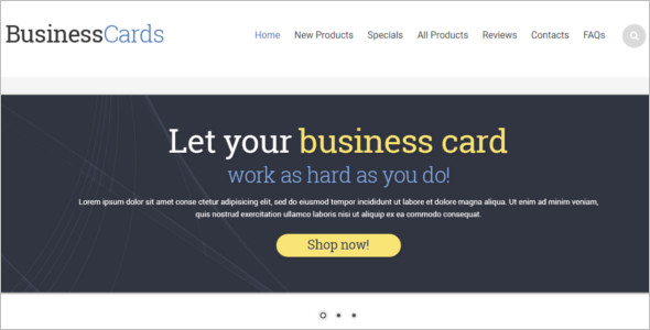 premium Business ZenCart Template