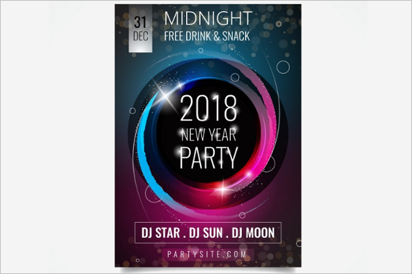 2018 New Year Brochure Free Download
