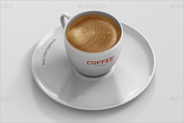3D Coffee Cup Mockup Design