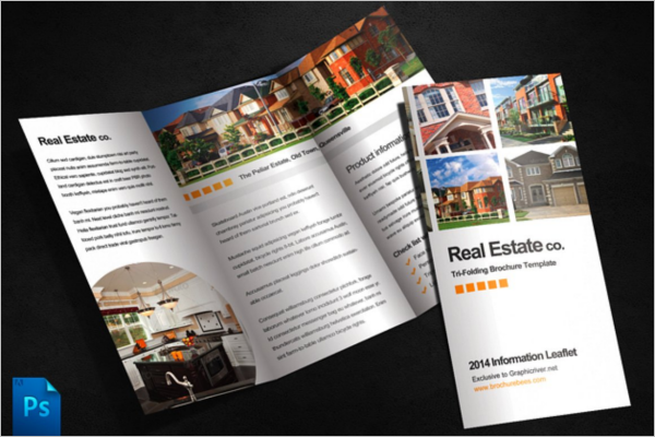 3Fold Real Estate Brochure Template