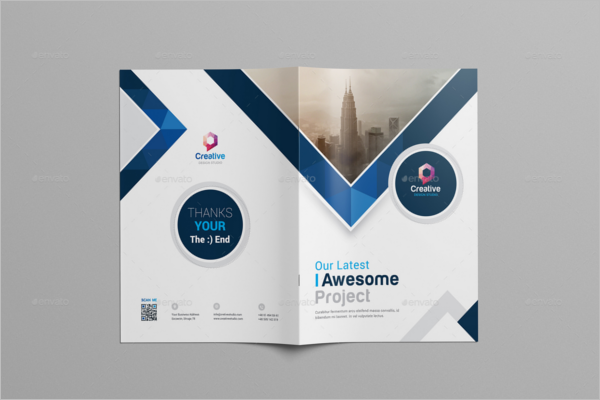 A4 Brochure Template Illustrator
