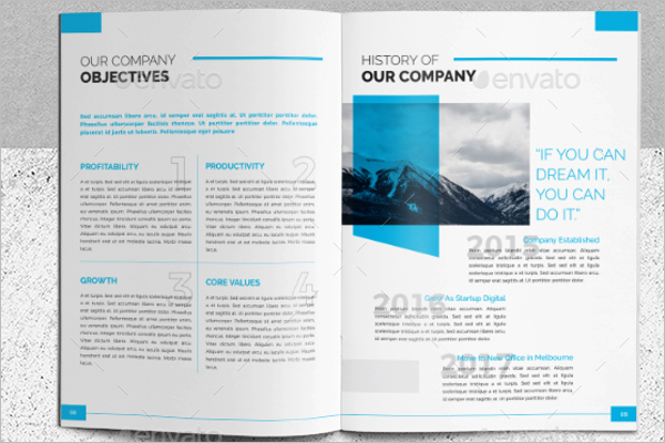 A4 Creative Brochure Template