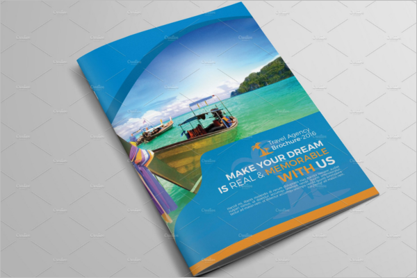 A4 Holiday Brochure Template