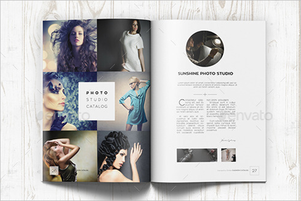 A4 Photography Brochure