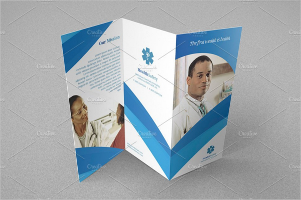 A4 Trifold Brochure Design
