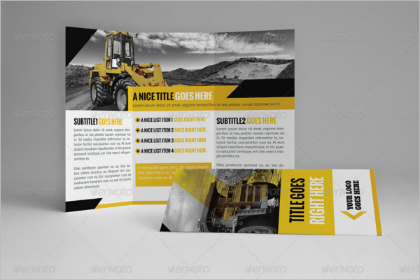 Absruct Construction Company Brochure Design